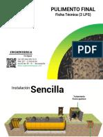 Ficha Tecnica Modulo Pulimento Final - (2 Lps) (1)