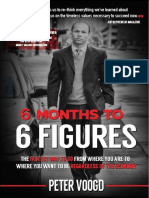 6 Months to 6 Figures by Peter Voogd