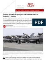 Pakistan Did Use F-16 Fighter Jet in Feb 26 Attack_ How It All Happened _ 10 Points - India News