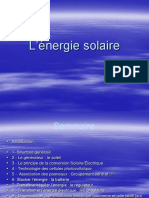 Cours Installation Solaire Photovoltaique