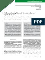Caso Enf Adenomatoidea Quistica Pulmonar