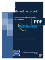 Manual de Adminbal Balanzas Dibal