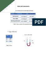 Calculo Reporte 1 Mecania de Fluidos
