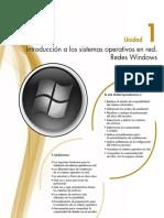 Capítulo 1 - Introducción a los sistemas operativos en red. Redes Windows