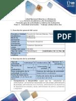 Guía de actividades y rúbricas de evaluación - Paso 3 - Actividad intermedia trabajo colaborativo dos.pdf