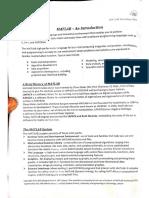 Matlab Workshop Manual