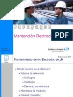 Mantención de Electrodos de PH - 2008