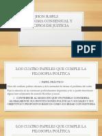 JHON RAWLS PARADIGMA CONSENSUAL Y PRINCIPIOS DE JUSTICIA