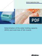 Determination of the Water Holding Capacity
