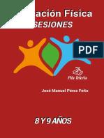 LIBRO Educación Física -  Sesiones 8 y 9 años