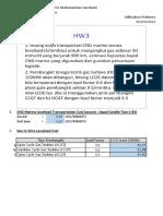 Contoh Perhitungan Biaya Transportasi CNG