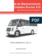 manual de mantenimiento de Runer 8G