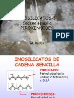 Inosilicatos Cadena Sencilla Piroxenoides