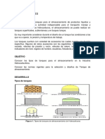 Tipos de Tanques, Normas de Construcción, Inspección