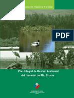 Conaf. Plan Integral de Gestión Ambiental Del Humedal Del Río Cruces