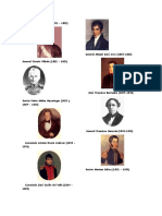 Presidentes de Guatemala (Solo Nombres y Foto)