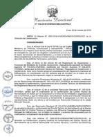 Resolución Directoral n 162 2018 Vivienda Vmcs Dgprcs