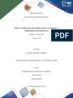 Tarea 2-Apropiar Los Conceptos de La Unidad 1-Fundamentos Economicos
