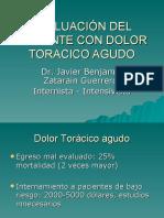 Evaluacion Del Paciente Con Dolor Toracico Agudo1596