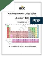 Sample Exam in chem