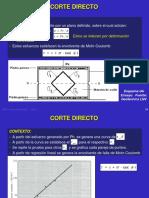 Lab Corte Directo - 2019-1
