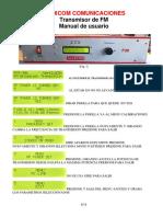 Manual FMA150A