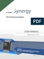 PM X2 User Manual Eradwag