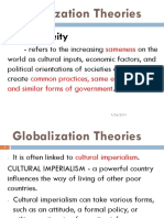 2nd Globalization Theories