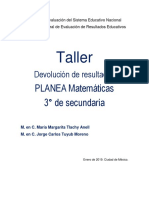 Taller Matematicas Secundaria