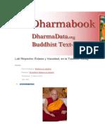 Vacuidad texto budista