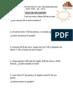 Ficha de Fracciones Homogeneas