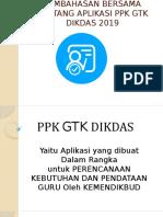 PPK GTK DIKDAS MANUAL PANDUAN