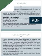System Admin Unit1 & Unit2