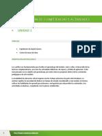 Competencias y Actividades - Unidad 2