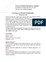 Diploma Prospectus 2019