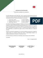Editable Constancia Participación