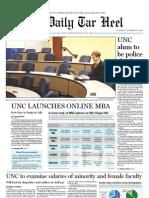 The Daily Tar Heel for November 16, 2010