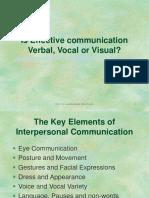 -01 Effective Communication
