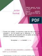 2.2 Definición Formal