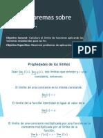 2.3 Teoremas Sobre Límites.