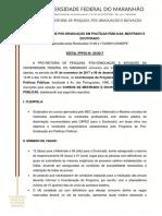 EDITAL PPPGI 50.2017 - Mestrado e Doutorado