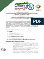 Programa Intercambio Academico Latinoamericano México-colombia y Argentina- Colombia (Pila) 2019-i