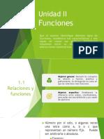 2.1 Relaciones y Funciones