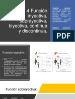 2.4 Función inyectiva, suprayectiva, biyectiva, continua y discontinua..pdf