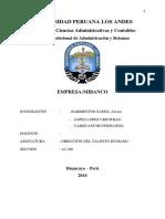Monografia de La Empresa Mibanco