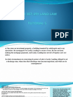 Tutorial 5 - Land Law