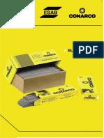 Catálogo de Electrodos - Conarco
