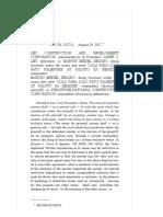 Ley Construction and Development Corporation vs. Sedano