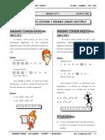 II BIM - 4to. Año - ALG - Guía 5 - M.C.D. Y M.C.M..doc