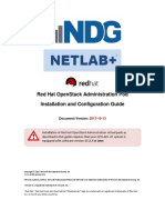 Netlab Red Hat Openstack Administration Pod Install Guide